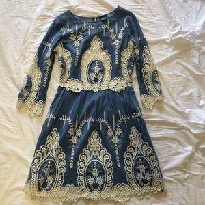 Dolce Vita Lace Trim Dress